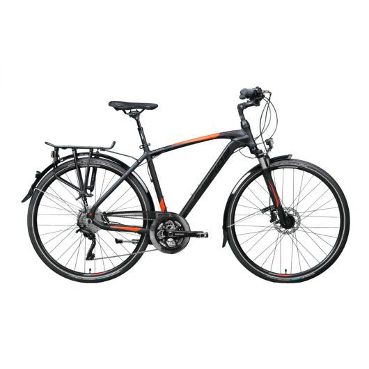 Gepida ALBOIN 900 28'' Férfi Trekking Kerékpár 2020 Matt fekete 30200 390-48A
