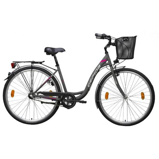 Gepida REPTILA 100 28'' Női Városi Kerékpár 2020 Grafitszürke 30200415-45D