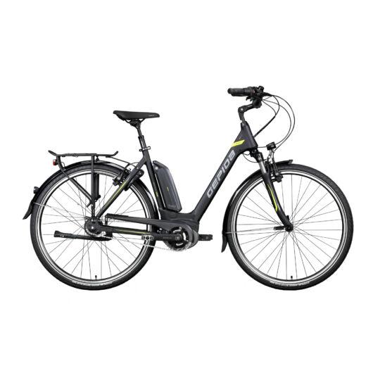 Gepida REPTILA 1000 28'' Unisex Pedelec Kerékpár 2020 Fekete 30201 355-46A