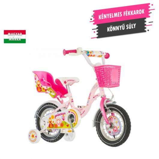 KPC Princess 12 királylányos gyerek kerékpár