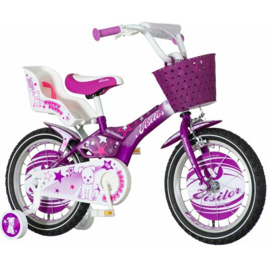 KPC Happy Puppy 16 kiskutyás gyerek kerékpár