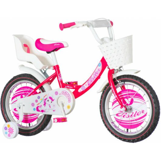 KPC Pony 16 pónis rózsaszín gyerek kerékpár