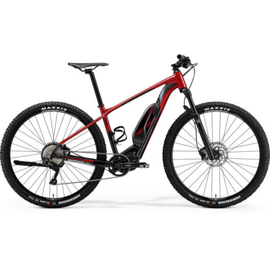 "50042 Merida eBIG. NINE 600 29"" férfi pedelec kerékpár 2018 piros/fekete"