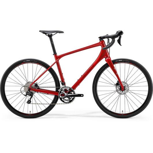"""47162 Merida SILEX 400 BORDÓ 28"""" férfi országúti kerékpár 2018 piros"""