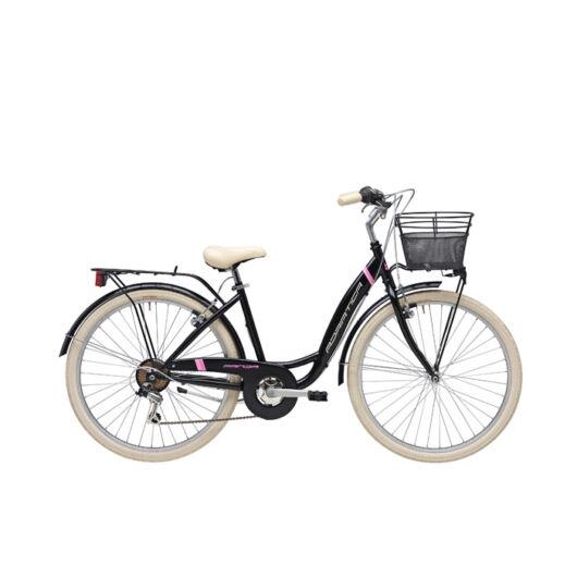 "BPAN18N02DY/NO Adriatica AD Panda 6s 28"" 6 Sebességes női városi kerékpár 2018 fekete"