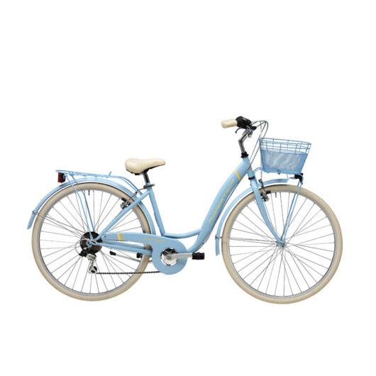 """BPAN18N02DY/AZ Adriatica AD Panda 6s 28"""" 6 Sebességes női városi kerékpár 2018 kék"""