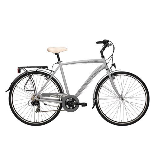 """BSIT17N01UY/G Adriatica AD Sity 3 700C 6s 28"""" 6 Sebességes férfi városi kerékpár 2018 szürke"""
