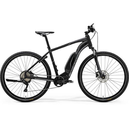"""37412 Merida eSPRESSO URBAN 600 EQ 28"""" férfi pedelec kerékpár 2018  matt fekete(fényes antracit)"""