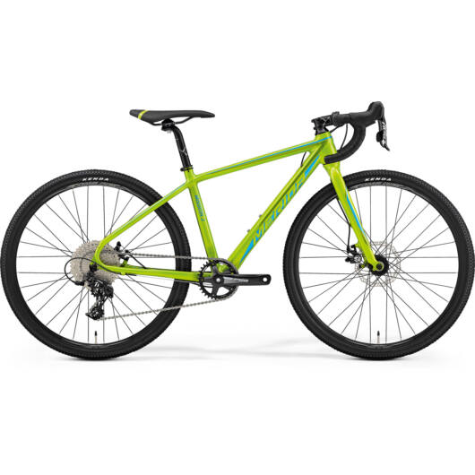 "82622-19 Merida MISSION J CX 39CM 26"" férfi cross kerékpár 2019 zöld(kék/zöld)"