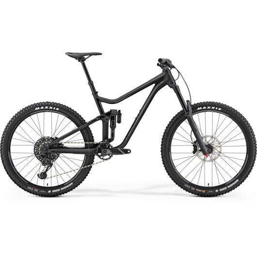 """72013-19 Merida ONE-SIXTY 800 férfi Mountain bike 27,5"""" 2019 matt fekete(fényes fekete)"""