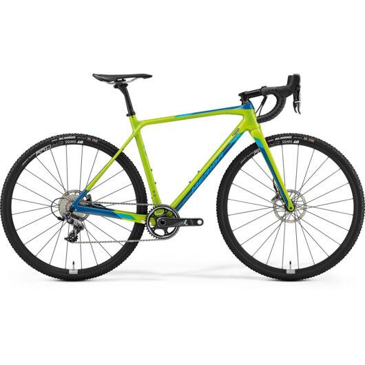 """82235-19 Merida MISSION CX 8000 28"""" férfi cross kerékpár 2019 zöld(kék)"""