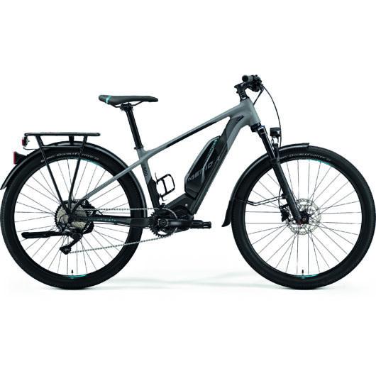 """05328-19 Merida eBIG.SEVEN 500 EQ 27,5"""" férfi pedelec kerékpár 2019  matt szürke/fekete(kék)"""