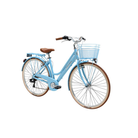 """BSIT18N010DY/AZ Adriatica AD Retro 6s 28"""" 6 Sebességes női városi kerékpár 2018 kék"""