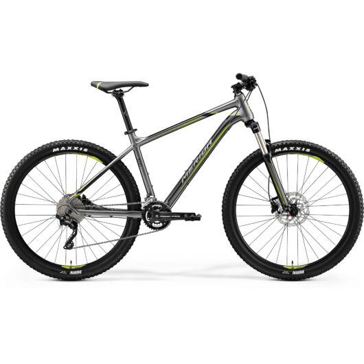 "22208-20 Merida BIG.7 300 férfi Mountain bike 29"" 2020 selyem antracit(zöld/fekete)"