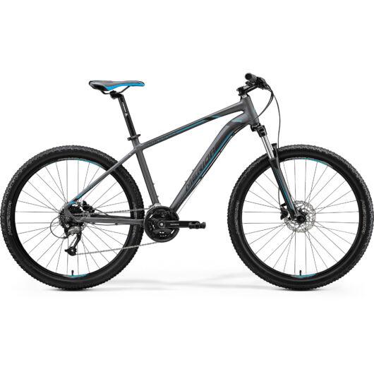 """23566-20 Merida BIG.7 40 férfi Mountain bike 27,5"""" 2020 sötét ezüst(kék/fekete)"""