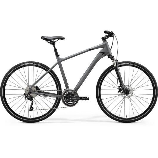 "35616-20 Merida crossway 300 28"" férfi cross trekking kerékpár 2020 szürke(fekete)"