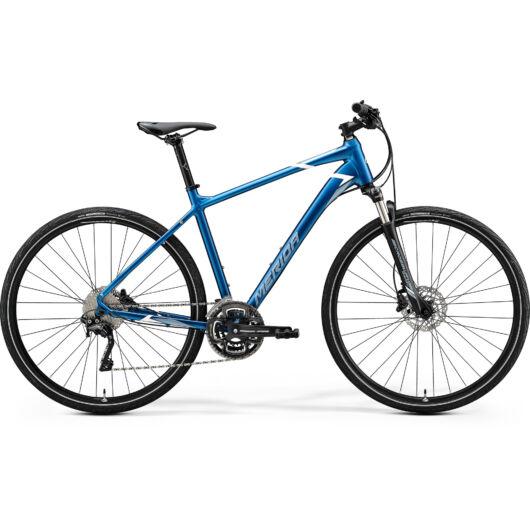 """35520-20 Merida crossway 500 28"""" férfi cross trekking kerékpár 2020 kék(fehér)"""