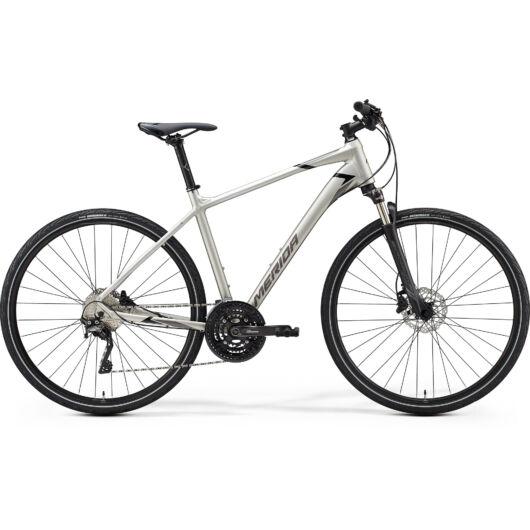 """35296-20 Merida crossway 600 28"""" férfi cross trekking kerékpár 2020 titán(fényes fekete/szürke)"""