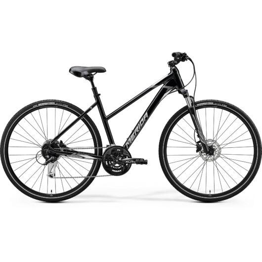 """51539-20 Merida crossway 100 28"""" női cross trekking kerékpár 2020 metál fekete(szürke)"""