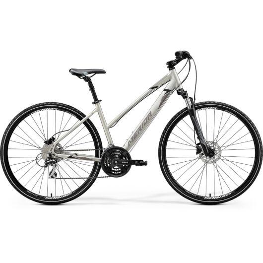 """41362-20 Merida crossway 20-D 28"""" női cross trekking kerékpár 2020 selyem titán(fekete/szürke)"""