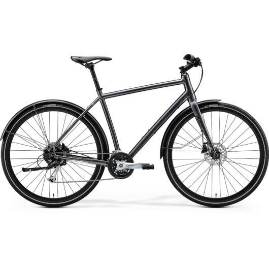 """36231-20 Merida crossway URBAN 100 28"""" férfi cross trekking kerékpár 2020  fényes antracit(fekete)"""