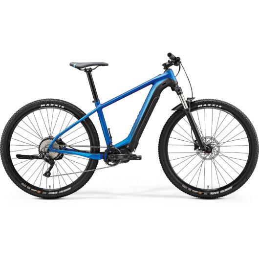 """26730-20 Merida eBIG. NINE 400 29"""" férfi pedelec kerékpár 2020 matt közép kék/fekete"""