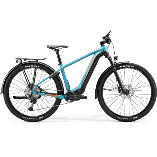 """26990-20 Merida eBIG. NINE 500 EQ 29"""" férfi pedelec kerékpár 2020 matt kékeszöld/fekete(narancs)"""