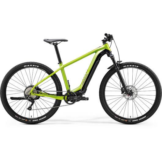 """27032-20 Merida eBIG. NINE 600 29"""" férfi pedelec kerékpár 2020 fényes zöld/fekete"""