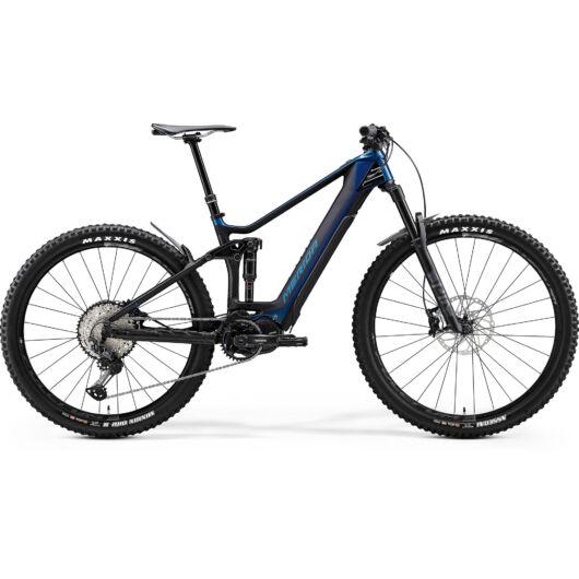 """27764-20 Merida eONE-FORTY 8000 29"""" férfi pedelec kerékpár 2020 fényes óceánkék/matt fekete"""