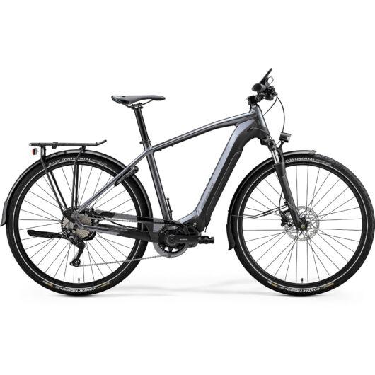 "20336-20 Merida eSPRESSO 600 EQ 28"" férfi pedelec kerékpár 2020 matt antracit/fekete"