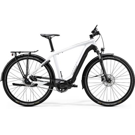 """20154-20 Merida eSPRESSO 700 EQ 28"""" férfi pedelec kerékpár 2020 fényes fehér/matt fekete"""