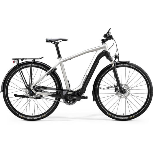 """20422-20 Merida eSPRESSO 800 EQ 28"""" férfi pedelec kerékpár 2020 matt titán/fekete"""