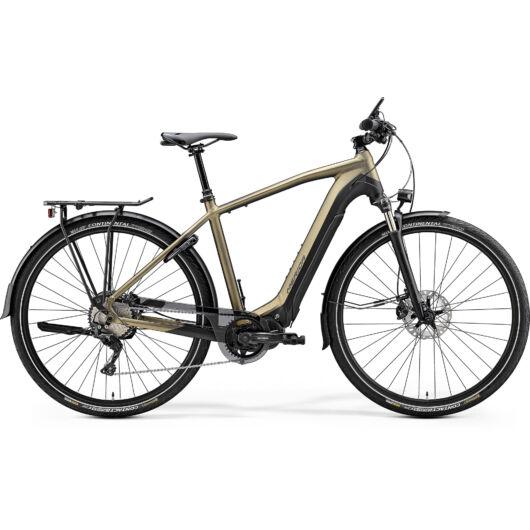 """20693-20 Merida eSPRESSO 900 EQ 28"""" férfi pedelec kerékpár 2020 fényes homok-arany/matt fekete"""