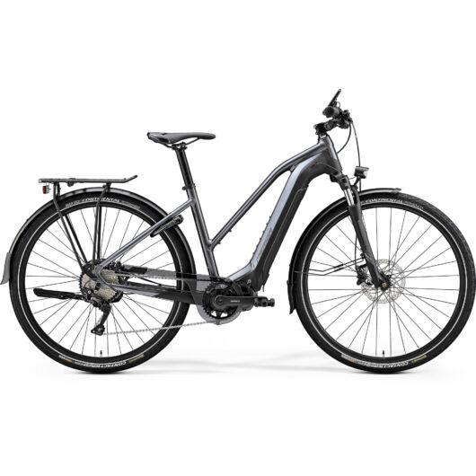 "20381-20 Merida eSPRESSO 600 EQ 28"" női pedelec kerékpár 2020 matt antracit/fekete"