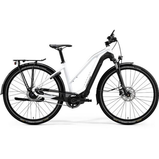 """20198-20 Merida eSPRESSO 700 EQ 28"""" női pedelec kerékpár 2020   fényes fehér/matt fekete"""