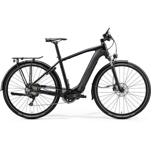 """20604-20 Merida eSPRESSO XT-ED EQ 28"""" férfi pedelec kerékpár 2020  fényes metál fekete/matt fekete"""
