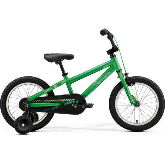 """43029-20 Merida MATTS J.16 UNI  16"""" 1 sebességes gyerek kerékpár  2020 fényes zöld(zöld)"""