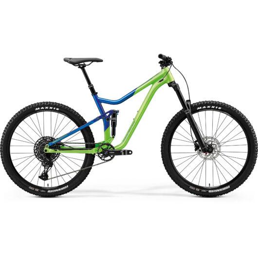 """33186-20 Merida ONE-FORTY 400 férfi Mountain bike 27,5"""" 2020 világoszöld(fényes kék)"""