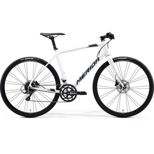 """29465-20 Merida SPEEDER 200 28"""" férfi Fitness kerékpár 2020 fehér(sötét ezüst/arany)"""