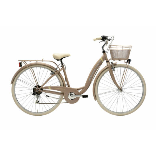 "BPAN18N02DY/SO Adriatica AD Panda 6s 28"" 6 Sebességes női városi kerékpár 2018 homok"