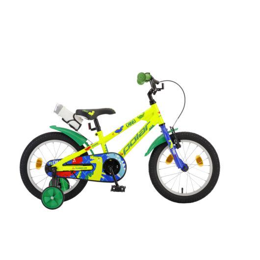 "Polar 14"" Junior fiú kék Dino kerékpár"