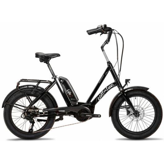 Corratec Life S AP5 RD 8 speed elektromos kerékpár, fekete-fekete, láncváltó