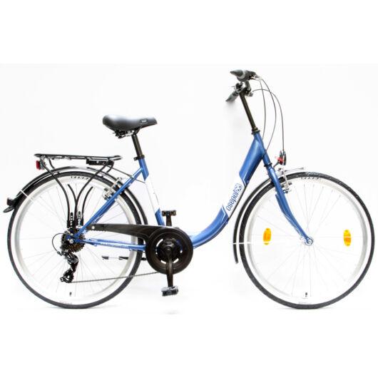 """Schwinn Csepel BUDAPEST B 26"""" 7 Sebességes Női városi kerékpár 2016 sötétkék 93601017SK"""