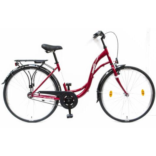 """Csepel VELENCE 28"""" 1 Sebességes Női városi kerékpár 2017 + Ajándék 24 órás szállítás"""
