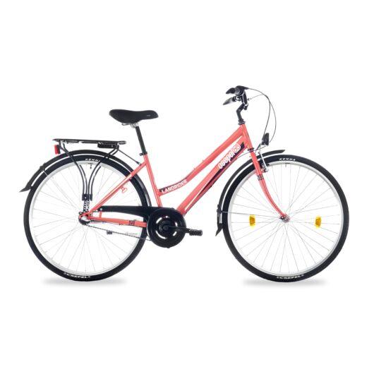 """Schwinn Csepel LANDRIDER 28"""" 3 Sebességes Női városi kerékpár 2017 korall 93730303HH"""