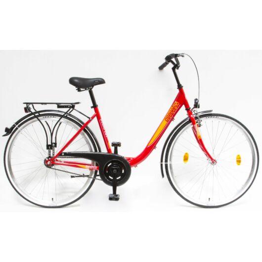 """Schwinn Csepel BUDAPEST B 28"""" 1 Sebességes Női városi kerékpár 2019 piros 93901201RD"""