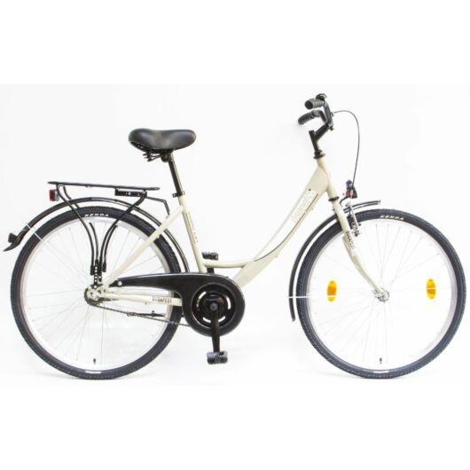"""Schwinn Csepel BUDAPEST A 26"""" 1 Sebességes Női városi kerékpár 2020 drapp 94000101DR"""