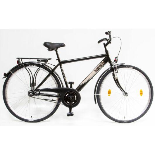 """Schwinn Csepel BUDAPEST 28"""" 1 Sebességes Férfi városi kerékpár 2020 fekete 94000401BK"""